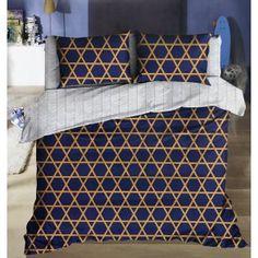 Bavlněné francouzské povlečení David modré Comforters, Quilts, Blanket, Bed, Home, Creature Comforts, Stream Bed, Quilt Sets, Ad Home