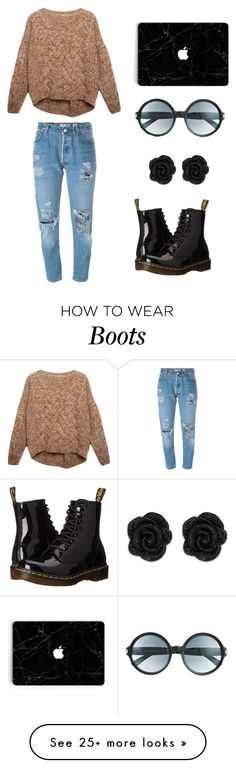 """""""Untitled #418"""" by kaylee10-i on Polyvore featuring Relaxfeel, Levi's, Dr. Martens and Tom Ford"""