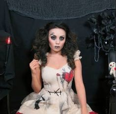 Creepy stitched doll, love this! Promise Phan
