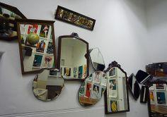 the wonky mirror wall, pinned by Ton van der Veer