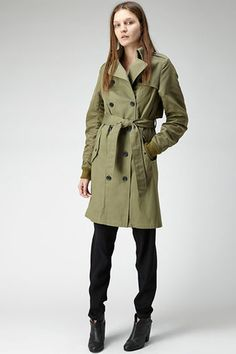 15 Posh Trench Coats To Wear Now — And Forever!  #refinery29
