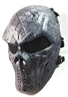 Airsoft Paintball Hockey Full Face Metal Mesh Eye BB Protect Full Face Mask Cosplay M06 (TYPHON) ATAirsoft http://www.amazon.com/dp/B00PZSFLV0/ref=cm_sw_r_pi_dp_OpsVub0DZZ7MN