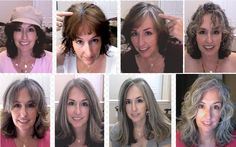 Going Gray, Looking Great Right . . . . . like never, ever!