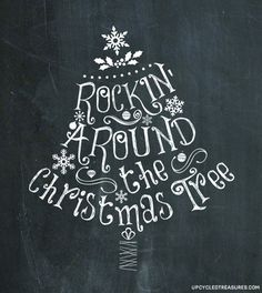 Make your gifts special. 3 Free Christmas Printables - Enjoy these 3 FREE Christmas Chalkboard printables that you can either print or transfer over onto a chalkboard. Merry Little Christmas, Winter Christmas, Christmas Holidays, Rustic Christmas, Christmas Quotes, Christmas Signs, Christmas Letters, Christmas Doodles, Christmas Labels