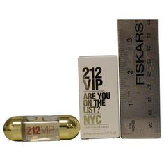 212 Vip By Carolina Herrera Eau De Parfum .17 Oz Mini