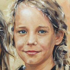 portret schilderij Sterre Watercolor Portrait Painting, Abstract Portrait, Portrait Art, Watercolor Art, Human Painting, Kunst Inspo, Popular Paintings, Pastel Portraits, Naive Art