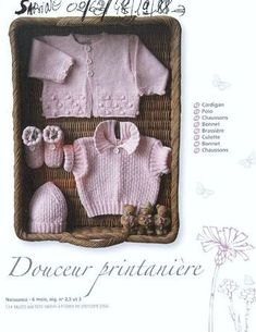 Chic baby catalog Source by mariebarcou Baby Patterns, Knitting Patterns, Knitting For Kids, Baby Knitting, Vintage Knitting, Knitting Magazine, Chic Baby, Baby Cardigan, Baby Outfits