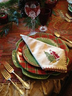 vignette design: Christmas 2012 Tablescape