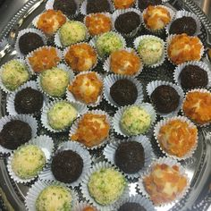 Caipirinha, Damascus and chocolate Brigadeiro.
