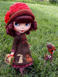 Custom Blythe doll by Team Sibley