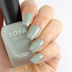 Liquid Jelly: [Review+Swatch] Zoya Naturel Satins Collection for 2015 - Sage