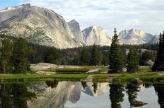 Make sure when you are on your way to Montana to stop in the Wind River Mountains, of  Wyoming - truly an amazing place in this world!
