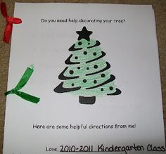 HoJos Teaching Adventures: How to Decorate a Christmas Tree Class Book K-2