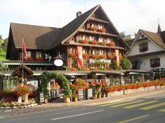 Lucerne, Switzerland     This the hotel I stayed at and discovered Nutella!    Love Lucerne!