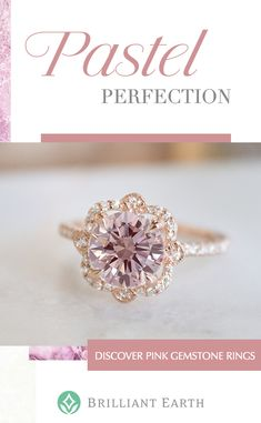 Looking for a unique pink engagement ring? Learn about the different options available to you, from our rose gold ring settings to our ethically sourced pink diamonds and sapphires. Pretty Rings, Beautiful Rings, Ring Verlobung, Gold Ring, Diamond Rings, Gemstone Rings, Dream Ring, Diamond Are A Girls Best Friend, Just In Case