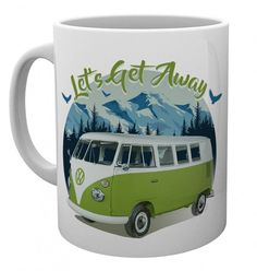 VW Beetle Cross Section Retro Volkswagen Cup Tea Coffee Mug Mugs