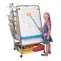 Classrooms are made simple with the Chart Caddy Center. Organize charts, maps, graphs, props, lesson materials in one convenient location. Begin each school day with the Chart Caddy Center for a smooth and structured start.