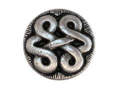 3 Antico Metal Shank Buttons 7/8 inch  22 mm  by ButtonJones, $4.20
