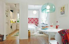 The First Apartment Book: Cool Design for Small Spaces | Small Apartment Design Photos - Houses Plans - Designs May 2013
