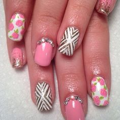 Pretty pink nails by handjobsbyallison