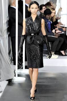 spring 2012 couture  Christian Dior...I'd have to leave the gloves behind but would love the rest!