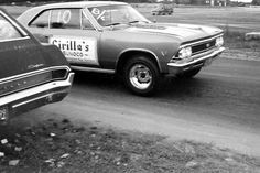 After the run… Chevelle SS396 on the return road