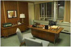 Pete Campbell´s office room in Season 1-3.