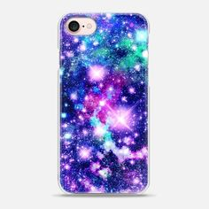 Pink and Purple Galaxy Stars iPhone case by Organic Saturation Ipod Touch Cases, Girl Phone Cases, Cool Iphone Cases, Iphone 7 Plus Cases, Iphone 7 Cases, Iphone 5s, Apple Iphone, Pink Iphone, New Iphone