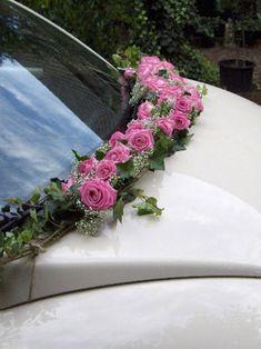 Stylish decoration made of flowers