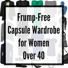 No fashion victim, no frump! A capsule wardrobe for a stylish woman over 40 by Alison Gary for Wardrobe Oxygen.