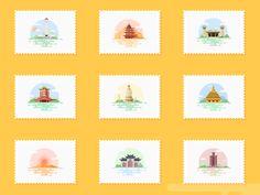 icon by Shan Zi #Design Popular #Dribbble #shots