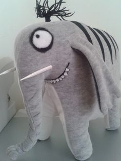 Слон редкий, полосатый..