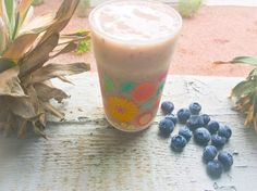 The Truth Faerie: Blueberry ice smoothie