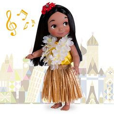 ''it's a small world'' Hawaii Singing Doll - 16''For me and or Nana...