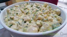 Ciuperci cu maioneza, o reteta cu gust, aroma, cremozitate si catifelata.
