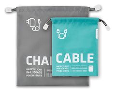 Charger & Cable Pouch