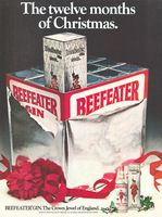 Beefeater Imported By Kobrand 1979 Ad Picture