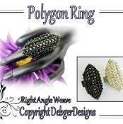 Polygon Ring - via @Craftsy