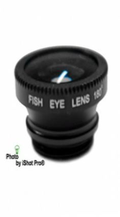 iShot Pro® Universal 3 in 1 Camera Lens Kit for Smart Phones, Tablets, iPad, and Laptops (Black)