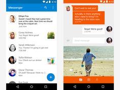Messenger android lollipop material design