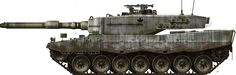 Canadian Leopard 2A2.