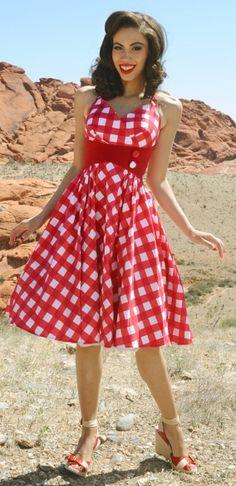 Fashion Me Fabulous- Zooey Dress from Pin Up Girl