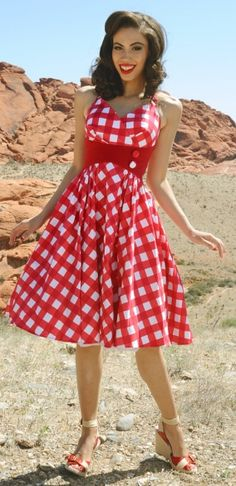 Fashion Me Fabulous- Zooey Dress from Pin Up Girl