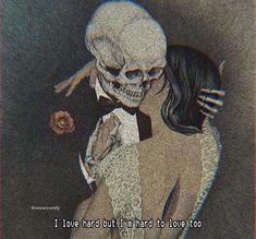 Quotes Sad Love Feelings Death 65 New Ideas Olgierd Von Everec, Photo Pour Instagram, Arte Dope, Jm Barrie, Art Et Design, Skeleton Art, Skeleton Love, Arte Obscura, Arte Horror