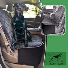 Plush Paws Co-Pilot Pet Car Seat Cover for Bucket Seats with Bonus Harness and Seat Belt for Cars, Trucks, SUV'S and Vehicles *** Awesome dog product. Click the image : Dog Carriers and Travel Products