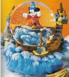 Disney Sorceror Mickey Snowglobe