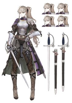 Safebooru is a anime and manga picture search engine, images are being updated hourly. Fantasy Character Design, Character Design Inspiration, Character Art, Female Character Concept, Character Sheet, Dnd Characters, Fantasy Characters, Female Characters, Female Armor