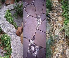 Mozaïek in de tuin
