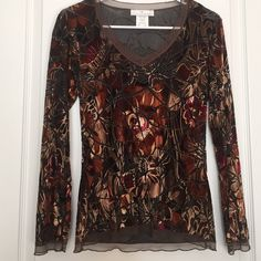 Women's Papillon Blanc Blouse Size SP Women's Beautiful Papillon Blanc Blouse Size SP , long sleeves; mesh material; PolyesterPlease stop by my closet for other great deals..SHARE, SHARE, SHARE, the favor will be returned. Paypal Accepted. Papillon Blanc Tops Blouses