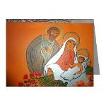 Holy Family - handmade card